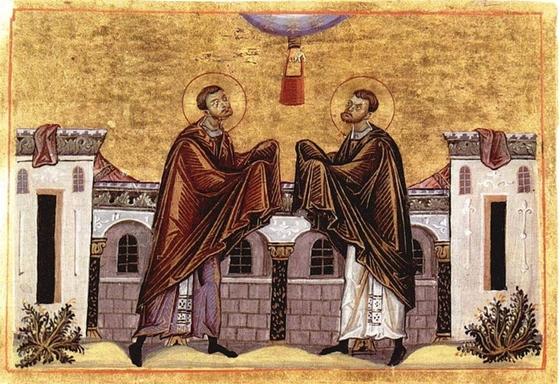 Святые целители Косма и Дамиан