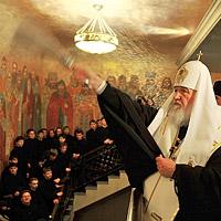 Торжества в Сретенском монастыре в день памяти священномученика Илариона
