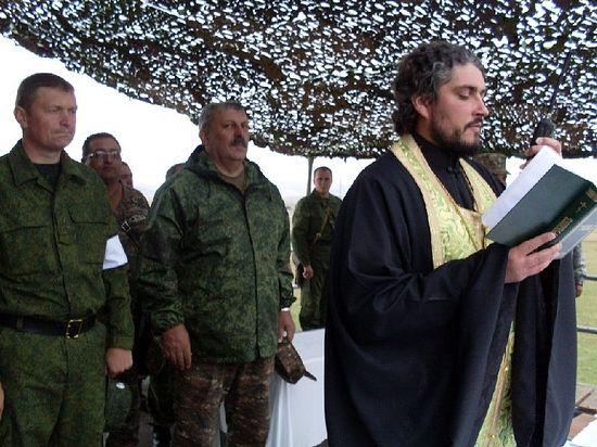 Помощник командира военной базы по работе с военнослужащими архимандрит Андрей (Вац). 2010