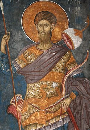 Great Martyr Theodore the Tyro. Photo: Pravoslavie.Ru