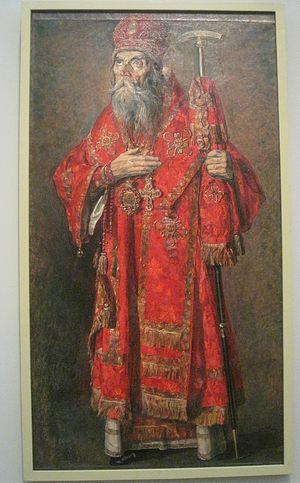 Митрополит Трифон (Туркестанов). 1929 г. П.Д. Корин