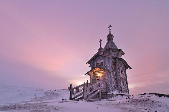 Православный храм в Антарктиде