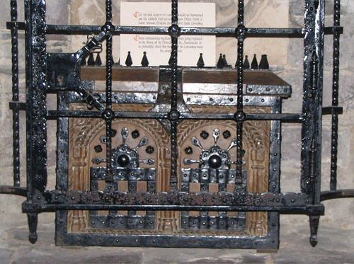 Shrine of St. David of Wales in St David's