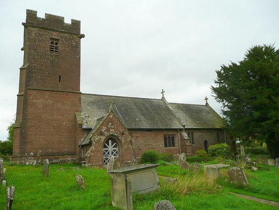 St. David's Church in Little Dewchurch, Herefordshire
