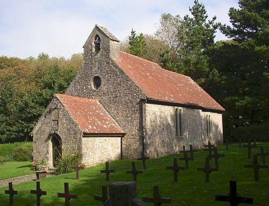 St. David's Church, Caldey Island
