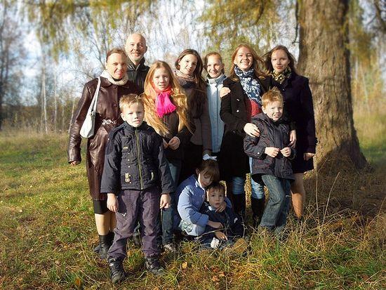 Многодетная семья Ялтанских