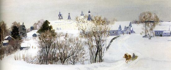 Зима. Ферапонтово
