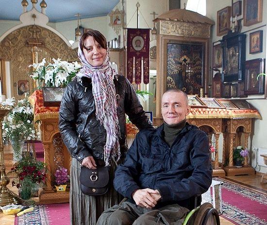Роман Колпаков с супругой Натальей