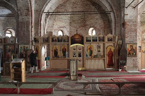 Иконостас Иоанно-Предтеченского храма в с. Сумароково