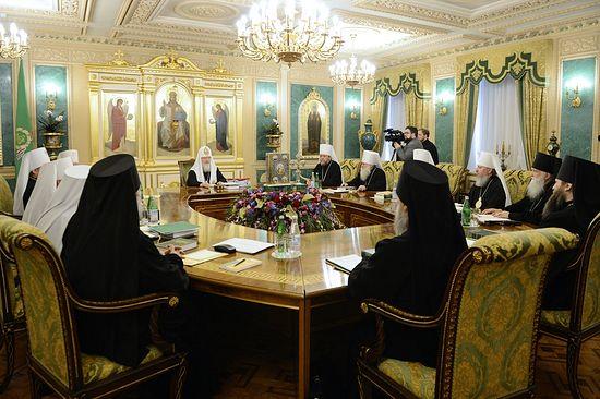 Заседание Священного Синода 19 марта 2014 года