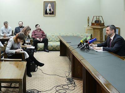 Русская Православная Церковь готова сделать все от нее зависящее для восстановления братских отношений между Россией и Украиной