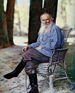 С.М. Прокудин-Горский. Портрет Л.Н. Толстого. 23 мая 1908 года