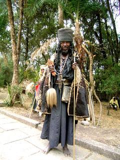 Отшельник из монастыря Дебре Лебанос