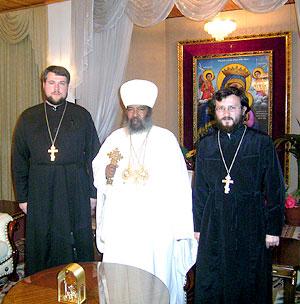 Священники Александр Васютин и Сергий