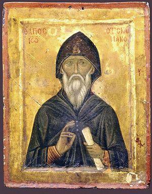 Преподобный Иоанн Лествичник, игумен Синайского монастыря