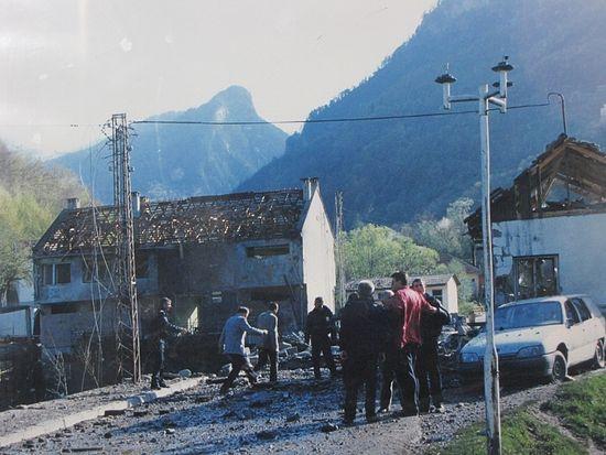 Последствия авиа-ударов НАТО. Черногория, 1999