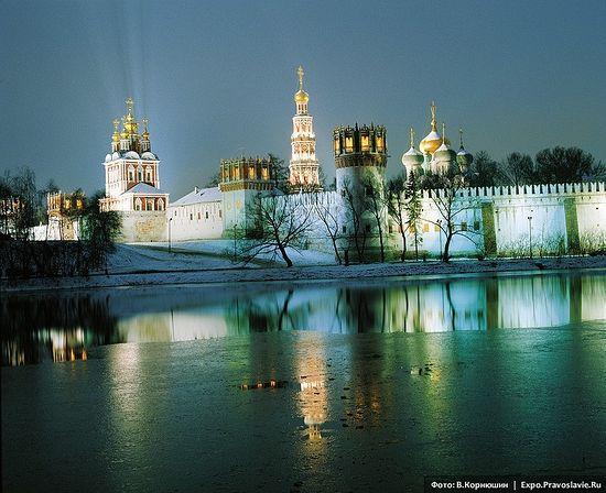 Новодевичий монастырь. Фото: Виктор Корнюшин