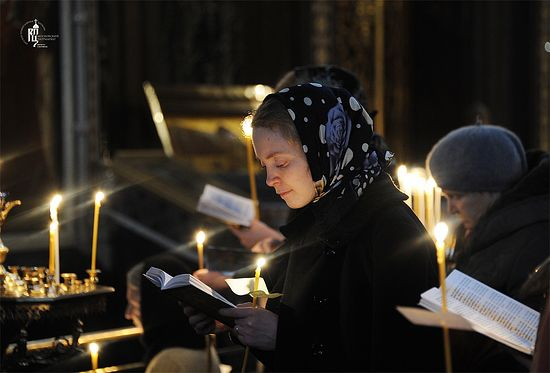 Мариино стояние. Фото: Патриархия.Ru