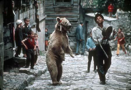 Цыгане с медведем