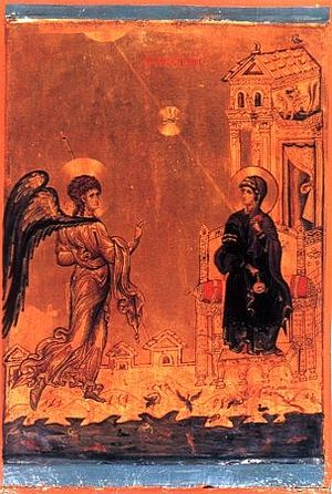 Annunciation, XII century, Sinai