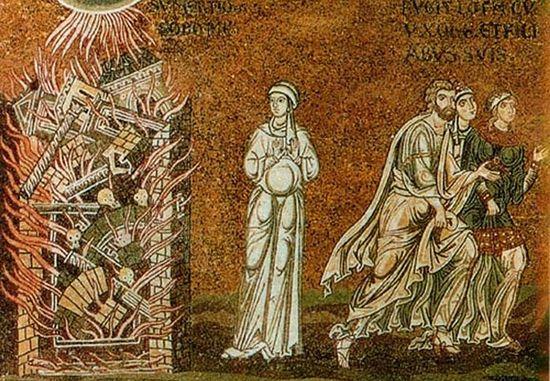 Бегство семейства Лота из Содома