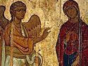 Всенощное бдение в Сретенском монастыре накануне Благовещения Пресвятой Богородицы