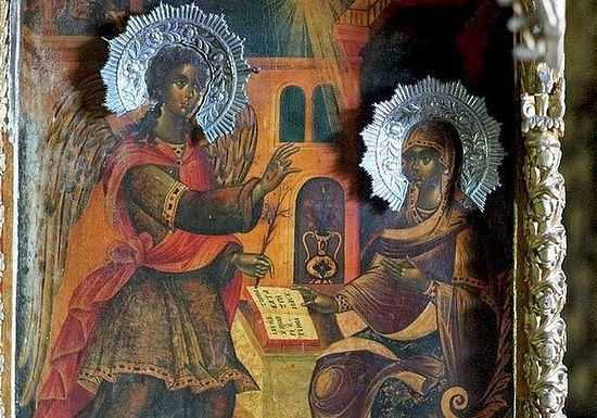 Благовещение Пресвятой Богородицы (Благовещенский скит обители Ксенофонт)