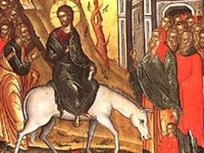 Lazarus Saturday and Palm Sunday