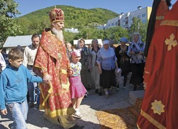 Концерт в строящемся соборе во имя Святой Живоначальной Троицы в Петропавловске-Камчатском