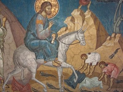 Homily on the Entrance of the Lord into Jerusalem