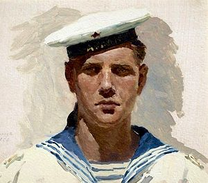 Петр Матвеев. Юный моряк
