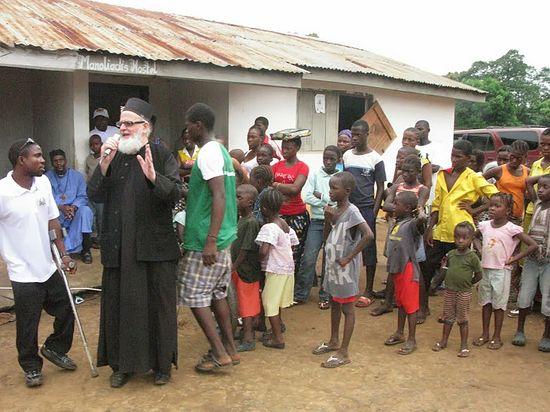 Фото: Православная миссия в Сьерра-Леоне