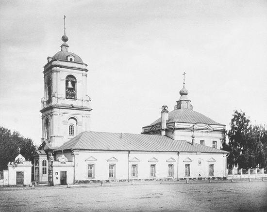 Храм Преображения Господня - кафедра митрополита Николая (Ярушевича). Взорван в 1964 году