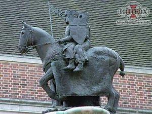 Два рыцаря-тамплиера на одном коне
