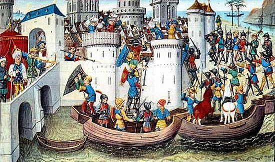 Захват Константинополя в 1204 году