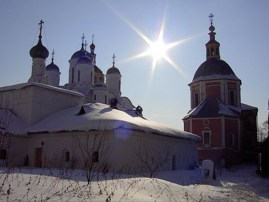 В Свято-Пафнутьево-Боровском монастыре