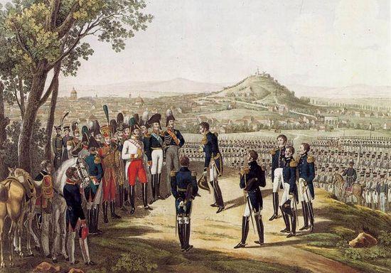 Капитуляция Парижа 31 марта 1814 года