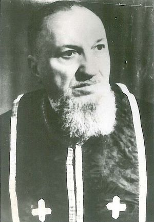 Священник Константин Сырбу