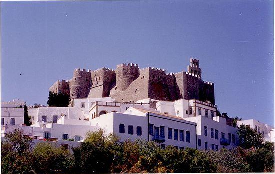 St. John monastery, Patmos island