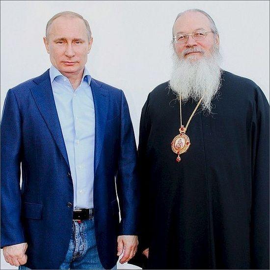 Владимир Путин посетил  Спасо-Преображенский Валаамский монастырь 171005.p