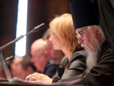 Выступление епископа Орехово-Зуевского Пантелеимона на IX Всероссийском съезде уполномоченных по правам ребенка
