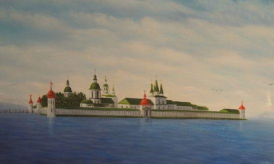 Кирилло-Новоезерский монастырь. Работа заключенных