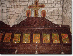 Iconostasis in the Old Church. Photo: ComeToSyria.com.