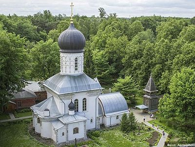 Храмы весенней Руси с высоты птичьего полета