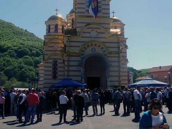 Храм Светог Саве у Мркоњић Граду