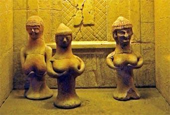 Терракотовые статуэтки Астарты из Израиля 1000–600 л. до н. э.