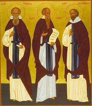 Saints Comgall, Gall and Columban