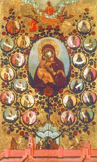 Парсуна Древо государства Московского. Симон Ушаков. 1668 г.