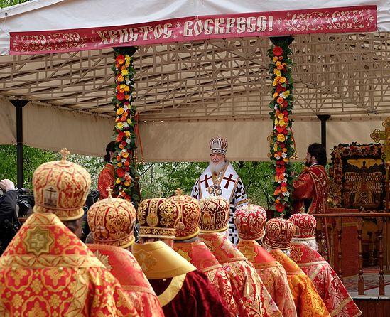 Патриаршее служение на Бутовском полигоне. 10 мая 2014 г.