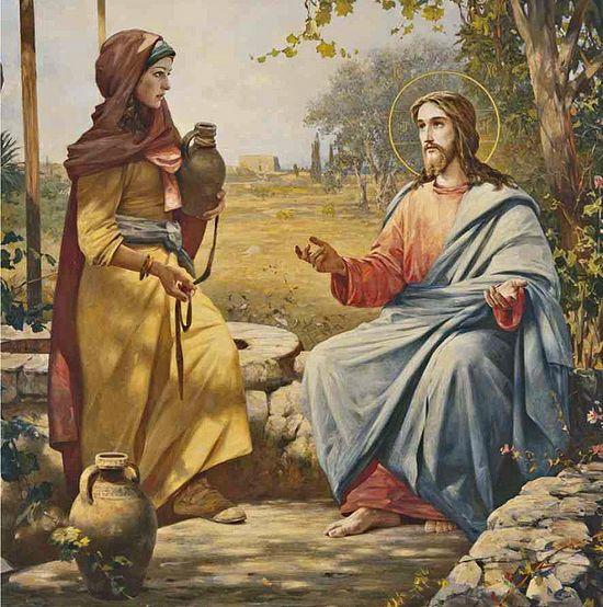 Картинки по запросу встреча Христа и самарянки